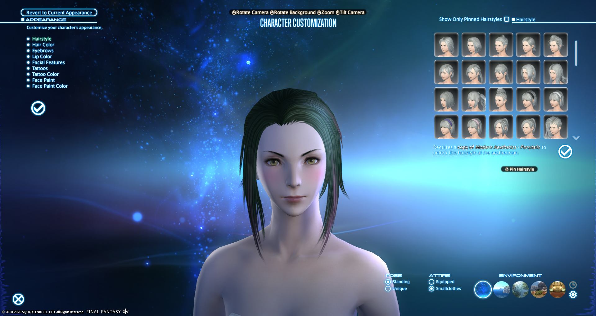 Ponytails - FFXIV Collect